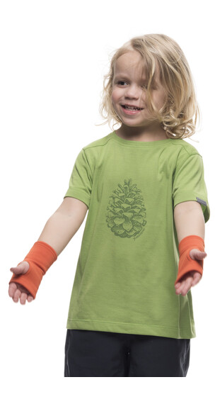 Houdini Kids Rock Steady Tee Clover Green
